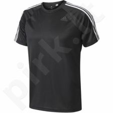 Marškinėliai treniruotėms Adidas Designed 2 Move Tee 3 Stripes M BK0970