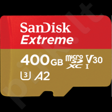 SanDisk Extreme microSDXC UHS-I Card, 400 GB, 160/90 MB/s