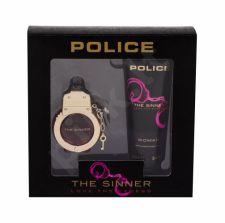 Police The Sinner, rinkinys tualetinis vanduo moterims, (EDT 30 ml + kūno losjonas 100 ml)