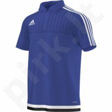 Marškinėliai futbolui polo Adidas Tiro 15 M S22435