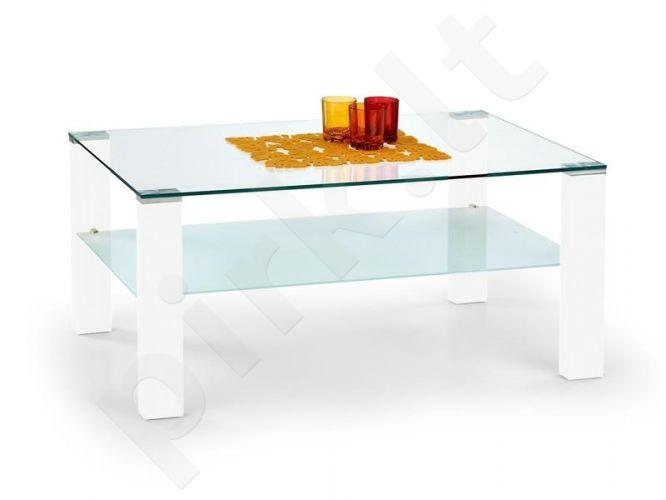 Stačiakampis SIMPLE staliukas, baltas