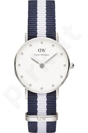 Laikrodis DANIEL WELLINGTON GLASGOW SILVER 26mm