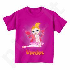"""Vaikiški marškinėliai """"Fėja"""" su Jūsų pasirinktu vardu"""