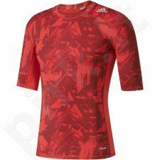 Marškinėliai kompresiniai Adidas Techfit Base Graphic Tee M BK1197