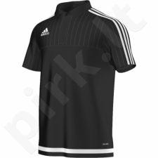 Marškinėliai futbolui polo Adidas Tiro 15 M S22436