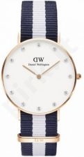 Laikrodis DANIEL WELLINGTON GLASGOW ROSE GOLD