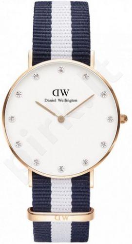 Laikrodis DANIEL WELLINGTON GLASGOW ROSE GOLD