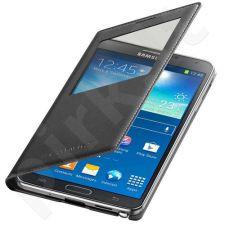 Samsung Galaxy S5 S view dėklas juodas