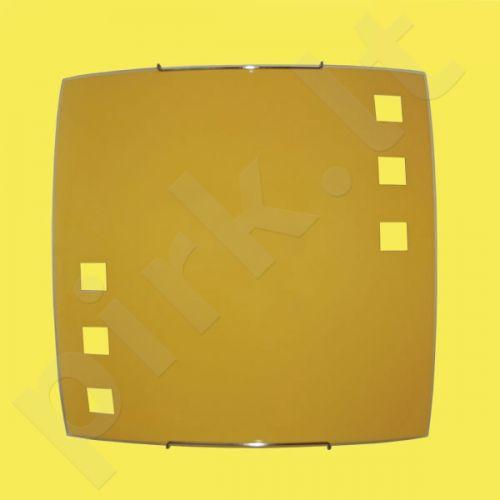 Sieninis šviestuvas K-1527 iš serijos ZK5-091 geltonas