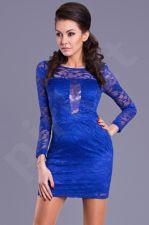EVA&LOLA suknelė -mėlyno atspalvio 8020-3