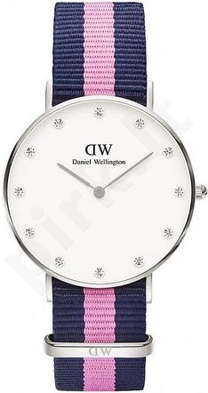Laikrodis DANIEL WELLINGTON WINCHESTER SILVER STRASS DIAL