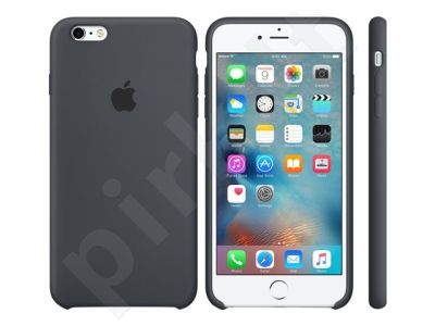 Apple iPhone 6S+ silikoninis dėklas pilkas