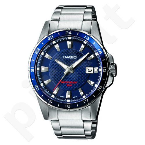 Klasikinis vyriškas Casio laikrodis MTP1290D-2AVEF