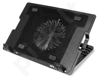 NB stovas Media-Tech Head Buster 4, iki 15,6', 16cm ventiliatorius
