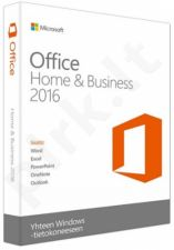 MS OFFICE HOME & BUSINESS 2016, ENG