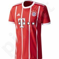 Marškinėliai futbolui Adidas  FC Bayern Munchen Home Replica 2017/2018 M AZ7961
