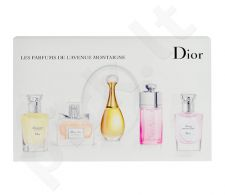 Christian Dior Mini Set rinkinys moterims, (EDP 5ml Miss Dior 2011 + EDT 7,5ml Addict Eau Fraiche 2012 + EDP 5ml Jadore + EDT 7,5ml Diorissimo + EDT 7,5ml Forever and Ever)