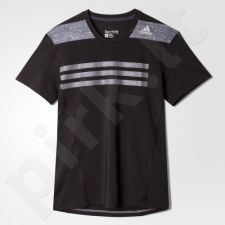 Marškinėliai Adidas Techfit Base Fitted graphic Tee M AA3165