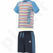 Komplektas Adidas Boys Summer Set K S17158