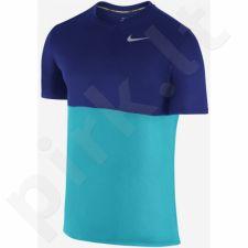 Marškinėliai bėgimui  Nike Racer Short-Sleeve M 644396-418