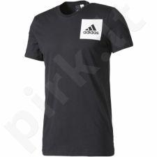 Marškinėliai Adidas Three Stripes M B45750