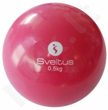 Svorinis kamuolys WEIGHTED BALL 0,5kg