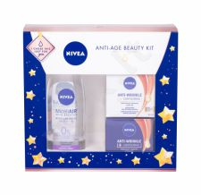 Nivea + Contouring, Anti Wrinkle, rinkinys dieninis kremas moterims, (Daily Facial Care SPF30 50 ml + Night Facial Care 50 ml + MicellAIR 200 ml)