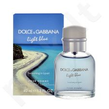 Dolce & Gabbana Light Blue Swimming in Lipari, EDT vyrams, 40ml