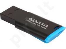 Atmintukas Adata Flash Drive UV140, 64GB, USB 3.1, juodai mėlynas