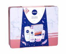 Nivea Soothing, Care, rinkinys dieninis kremas moterims, (Soothing kremas 200 ml + dušo kremas Creme Soft 250 ml + MicellAIR 200 ml + Roll-on Pearl & Beauty 50 ml + Tin Box)