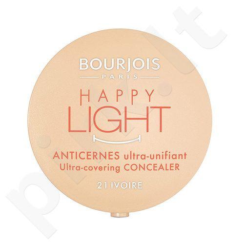 BOURJOIS Paris Happy Light Concealer, kosmetika moterims, 2,5g, (21 Ivoire)