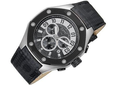 Esprit EL101291F01 Kronos Black vyriškas laikrodis-chronometras