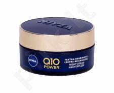 Nivea Q10 Power, Anti-Wrinkle + Extra Nourishing, naktinis kremas moterims, 50ml