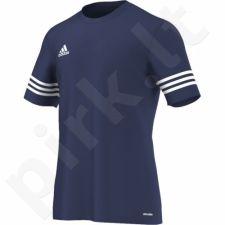 Marškinėliai futbolui Adidas Entrada 14 F50487