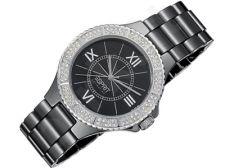 Esprit EL101322F06 Pure Black moteriškas laikrodis