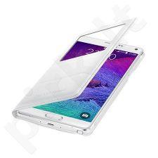 Samsung Galaxy Note 4 S view dėklas baltas
