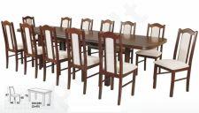 Stalas VENUS-P VII + 12 kėdžių BOSS II