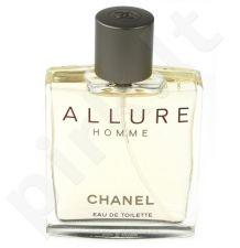 Chanel Allure Homme, tualetinis vanduo (EDT) vyrams, 100 ml (Testeris)