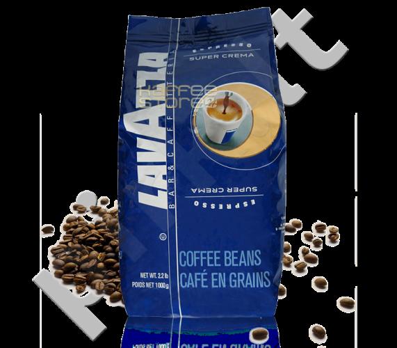 Kava pupelėmis Lavazza Super Crema Espresso, 1kg