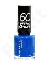 Rimmel London 60 Seconds, Super Shine, nagų lakas moterims, 8ml, (405 Rose Libertine)