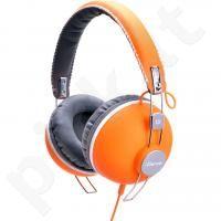 Idance HIPSTER-704 ausinės (oranžinės)