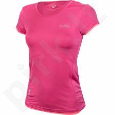 Marškinėliai treniruotėms Outhorn W TOL16-TSDF601 rožinės spalvos