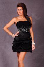PINK BOOM suknelė juoda 4601-3
