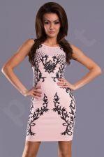 Emamoda suknelė - ružava 8509-4
