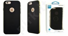 Apple iPhone 6 dėklas COQUE Bigben juodas/auksinis
