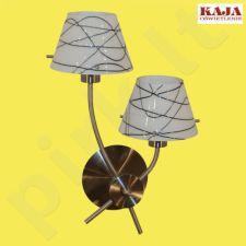 Sieninis šviestuvas K-MA01497W-2-1 SN