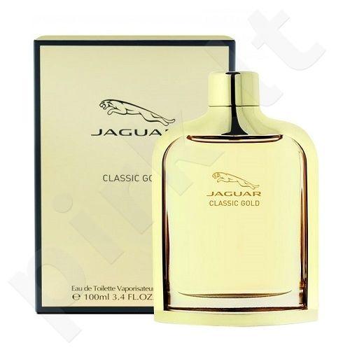 Jaguar Classic Gold, tualetinis vanduo (EDT) vyramas, 100 ml