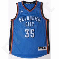 Marškinėliai krepšiniui Adidas Swingman Oklahoma City Thunder Kevin Durant M A46194