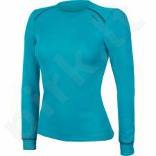 Marškinėliai termoaktyvūs ODLO Shirt Warm W 152021/20252