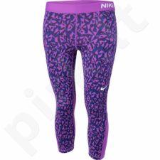 Sportinės kelnės Nike Pro Cool Capri Facet 3/4 W 822978-556
